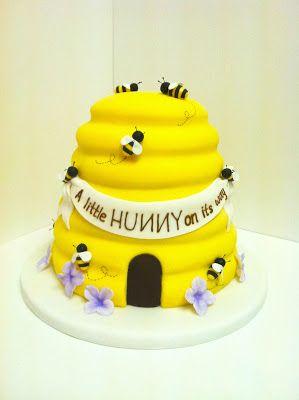 Bee hive cake
