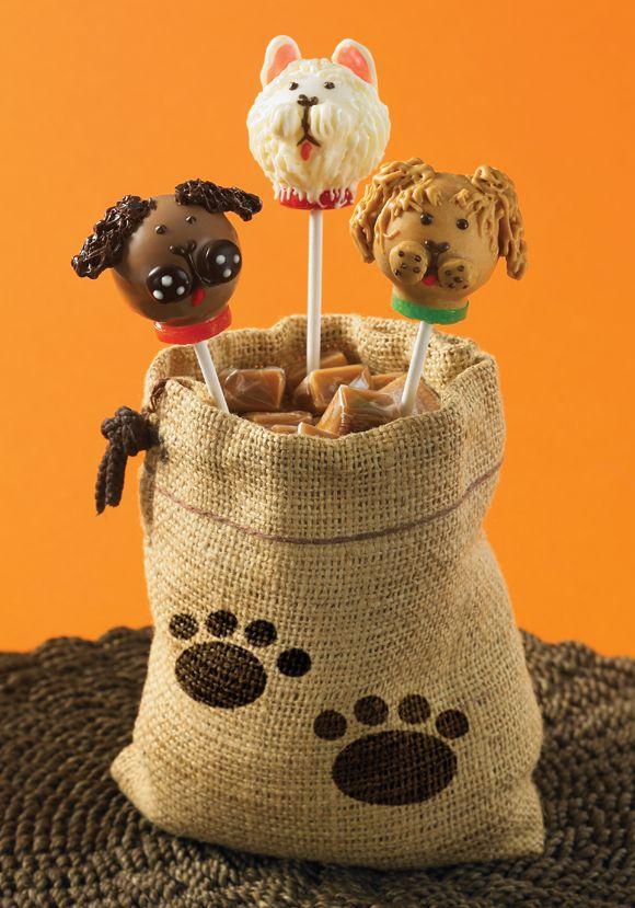 Dog popcakes