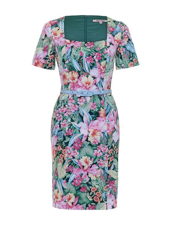 Review Australia | Aloha Dress Multi