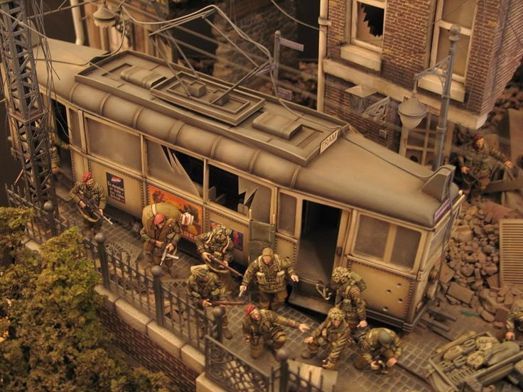 Dan capuanos 1 35th ww2 diorama diorama pinterest for Scale model ideas