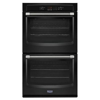 Wall Ovens 71318: Maytag Mew7630de 30 Electric Double Wall Oven With Sabbath Mode Black -> BUY IT NOW ONLY: $1366 on eBay!