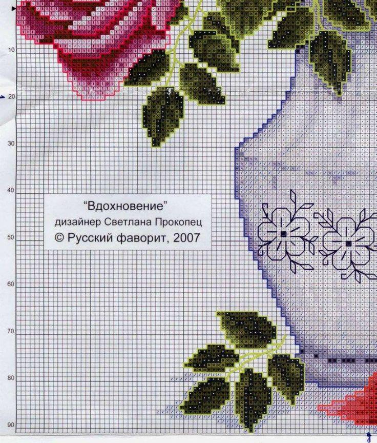 Jarrón con rosas _ 3