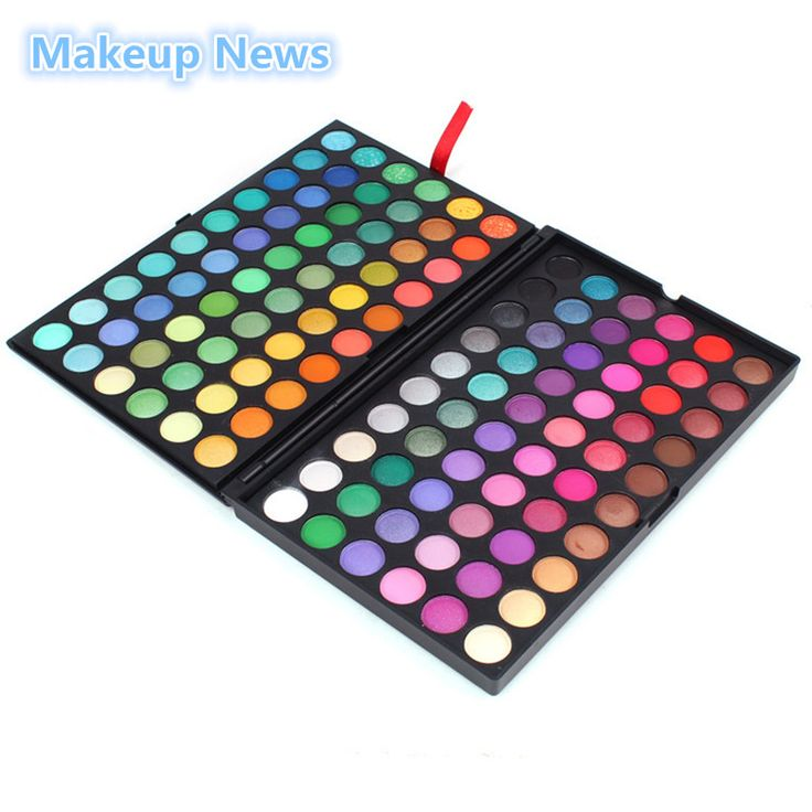 1set 120 Color Fashion Eye shadow palette Cosmetics Mineral Make Up Makeup Eye Shadow 12 colors