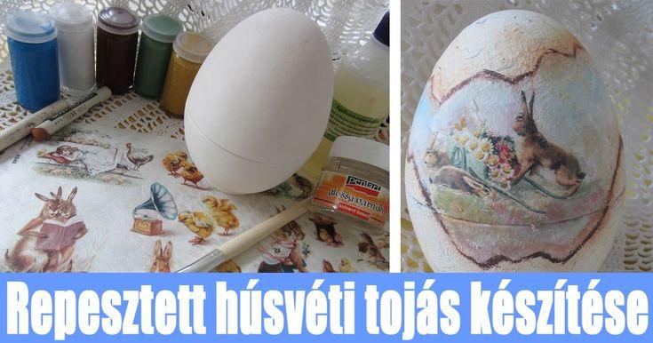 A repesztett húsvéti tojás a Húsvét dísze lehet a családi asztalnak és kiváló ajándék a locsolóknak. A Kreatív hobbik csoport DIY rovatának a 2. részében ...