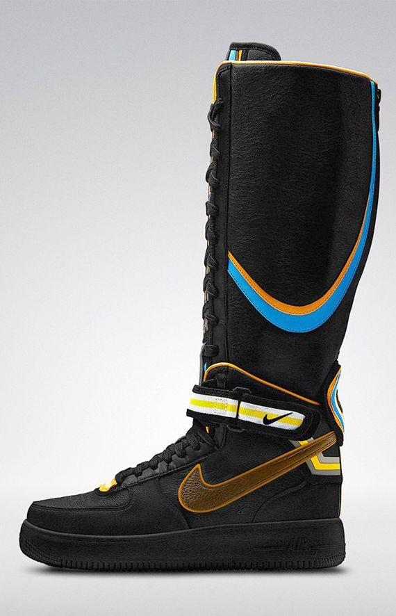 Release Reminder: Riccardo Tisci x Nike Air Force 1 RT 'Black Collection'