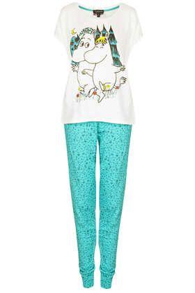 Moomin Meadow PJ Set - Lingerie & Nightwear  - Clothing
