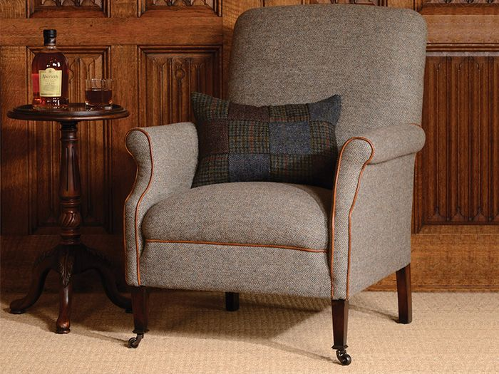 Bowmore Chair from the Harris Tweed Collection  Furniture | Sofas, Dining, beds, bedrooms and occasional. Buy Online
