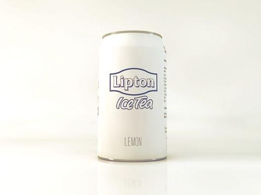 minimal lipton ice tea
