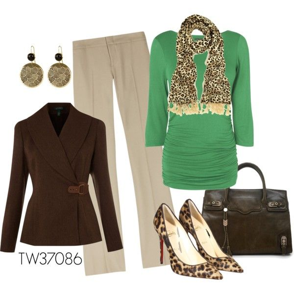 Fall Work Outfit - Polyvore