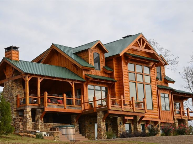 Vrbo Com 431110 Ozark Mountain Lodge With Expansive Lake And Mountain Views Lodge Rentals Vacation Rental Lodge House