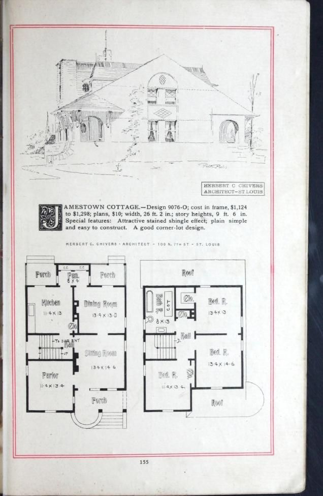 Architecture House Floor Plans 2369 best 1800's-1940's house plans images on pinterest | vintage