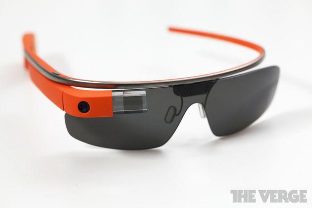 google glass in orange