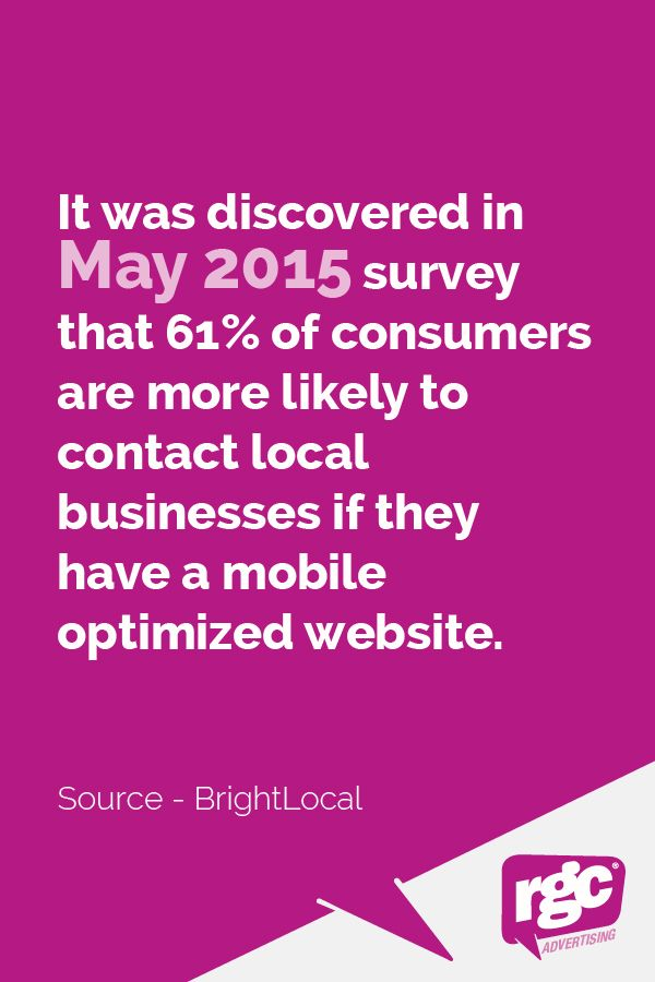 Having a mobile optimised website and/or application is essential to survive in the modern digital landscape. Read More: