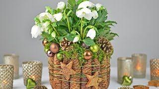 130 best winter images on pinterest christmas crafts for Baumwollzweige dekoration