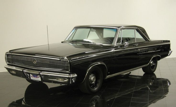 Modified '65 Dodge Coronet 500. 426 with 4-speed manual w/ '66 Charger grille and hideaway headlights. Secret Agent Man car.
