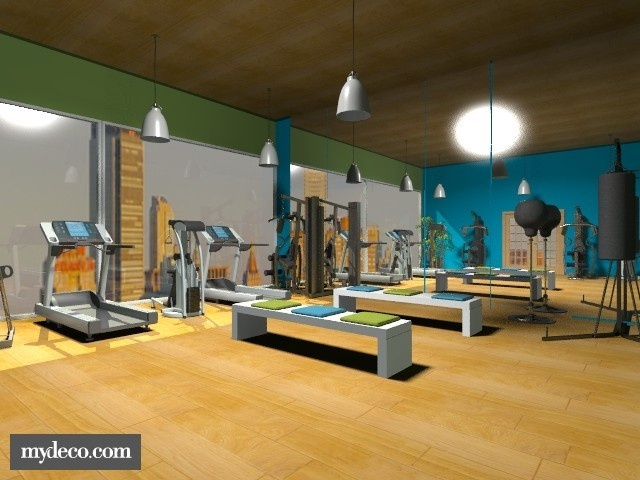 Best garage gym images on pinterest exercise rooms