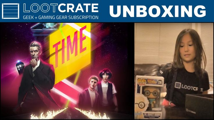 Loot Crate October 2015 - Time!!