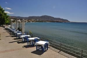 Makrigialos (official spelling: Makry-Gialos) is a small, unspoiled beach resort on the south-east coast of Crete