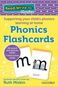 Help with phonics from Ruth Miskin and Oxford University Press.