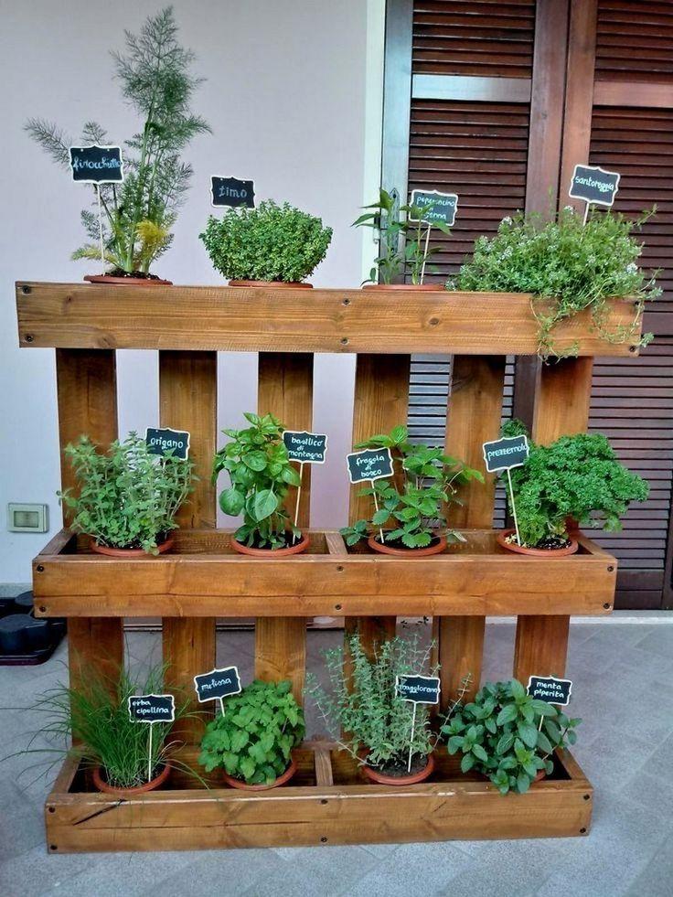 21+ idées et décorations de jardins potagers créatifs #vegetablegardenideas #veget