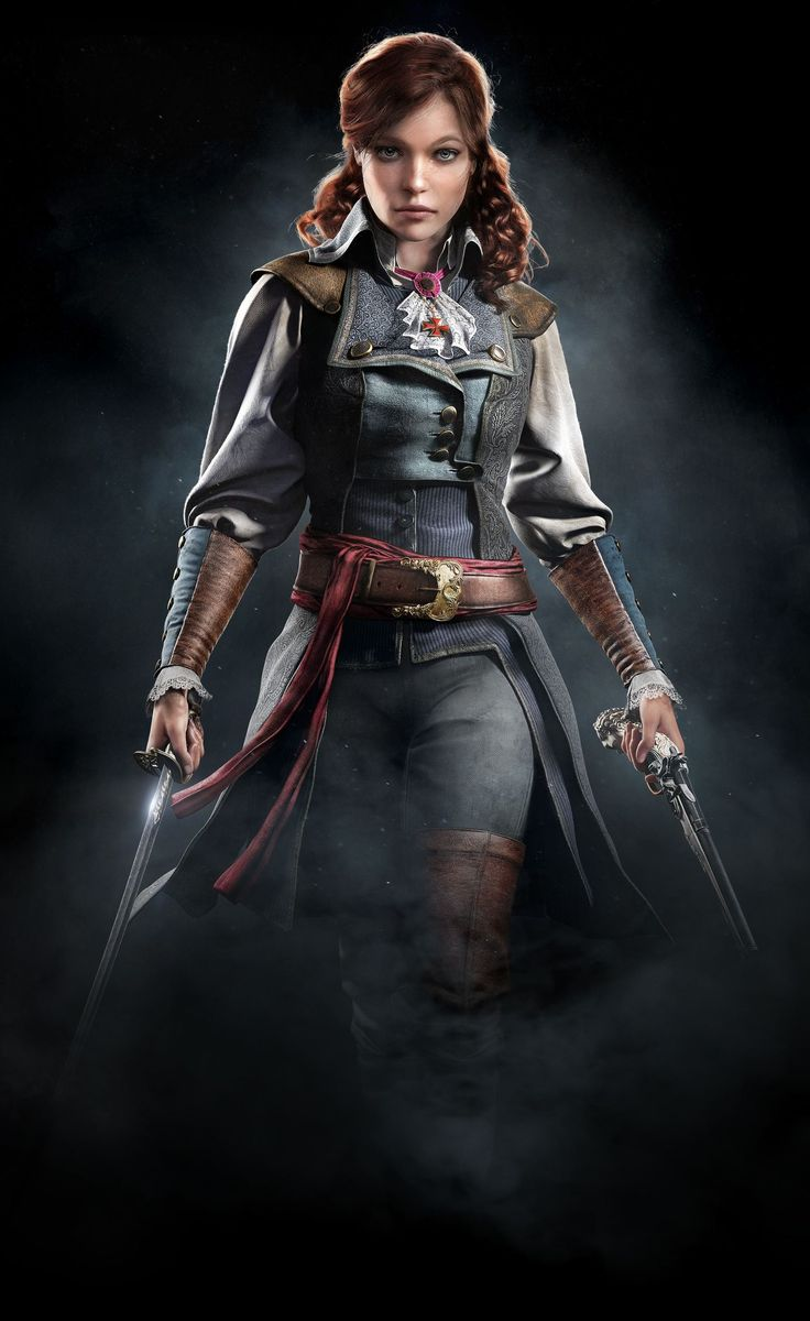 Élise de la Serre (1768 – 1794) was a French noblewoman and Templar, as well as the adoptive sister and lover of the Assassin Arno Dorian. Assassin's Creed Unity