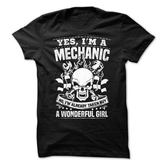 Yes, Im A Mechanic! - #cool hoodies for men #design tshirts. GUARANTEE => https://www.sunfrog.com/Automotive/Yes-Im-A-Mechanic.html?60505