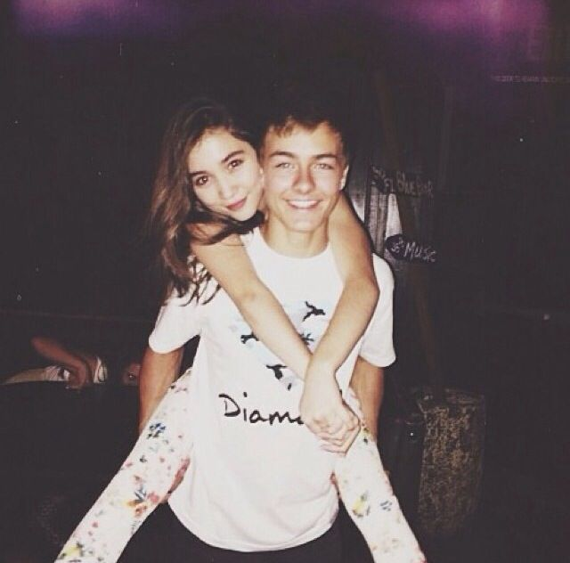 Peyton Meyer and Rowan Blanchard