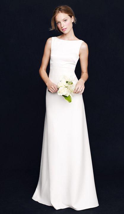 Brautkleid schlicht modern