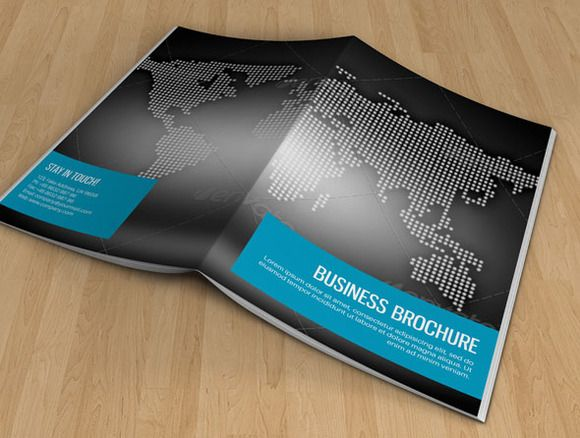 Brochure for Business-V44 by Template Shop on Creative Market