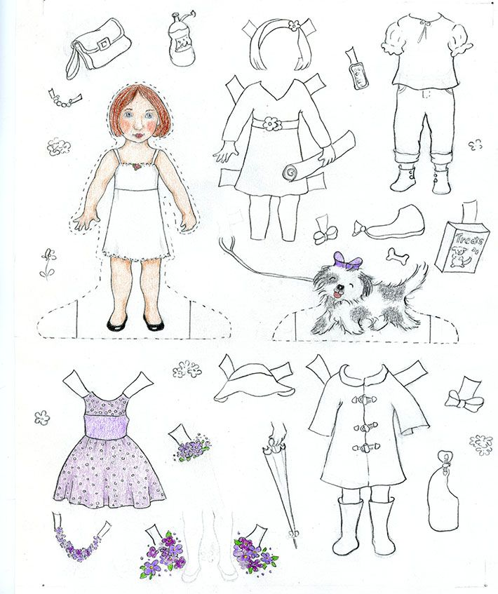 Here's something every artist needs to learn: how to make paper dolls all your own! Creating custom characters and clothing is easy and fun. On Craftsy!