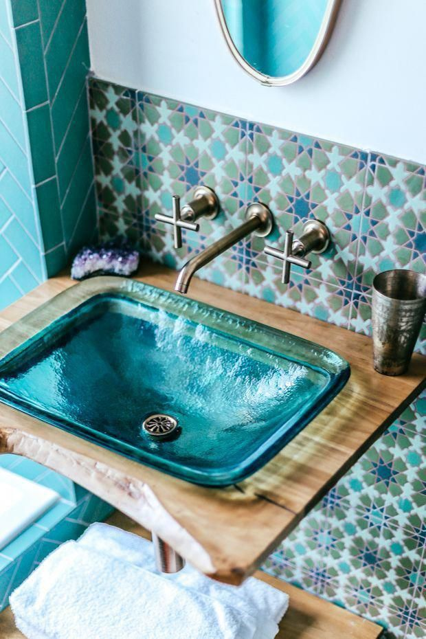 Photo of Jungalow Bathroom Before and After with Kohler | The JungalowDer Jungalow #bath …