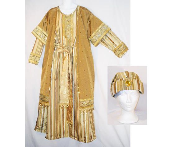 Size L Wise Man Costume Nativity Play Three Kings Magi Robe