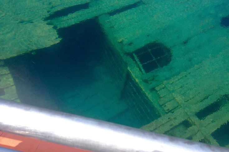 Shipwrecks in Fathom Five National Marine Park, Tobermory, Canada | www.everyfootstepanadventure.com