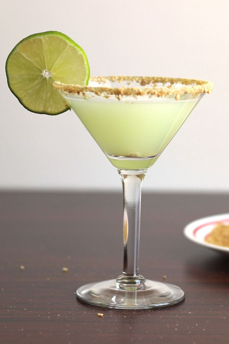 Coconut- Key Lime Martini recipe: Vanilla Vodka, Key Lime Juice, Coconut, Pineapple, Cream!  Yummmmm!