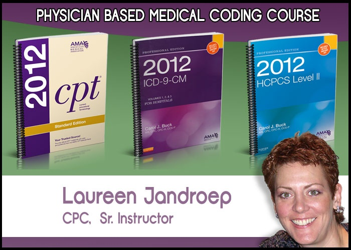 Online Medical Coding Course - Open Enrollment - Many extras you don't get with other online courses - check it out!