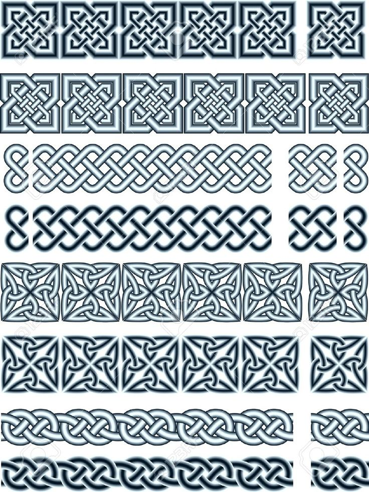 Elements of design in Celtic style