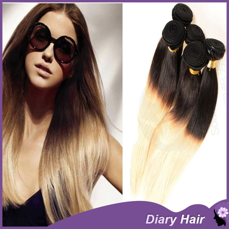 Find More Hair Weaves Information about 7A Unprocessed ombre straight virgin hair1b 613 blonde human hair extentions peruvian two tone nature hair bundles weaving DHL,High Quality hair dryer rotating brush,China bundling machine Suppliers, Cheap hair relaxer for men from GuangZhou Diary Hair Products Co., Ltd. on Aliexpress.com