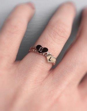 Anillos para parejas que quieren hacerse una promesa de amor