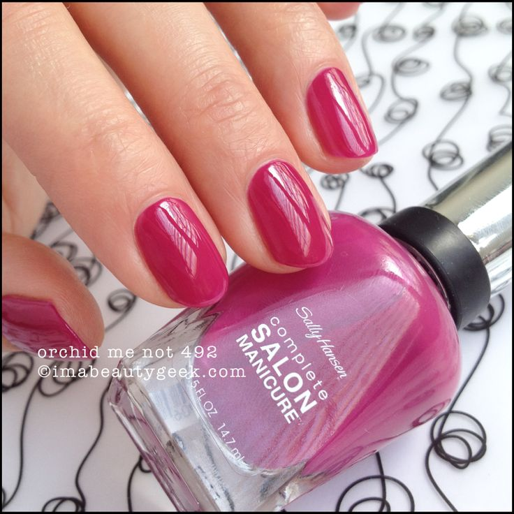 Sally Hansen Salon Pro Gel Nail Polish: 25+ Best Ideas About Sally Hansen On Pinterest
