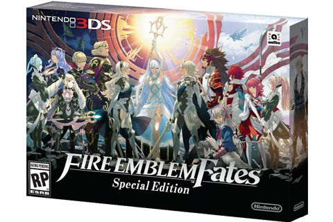 Fire Emblem Fates: Special Edition back in stock via Nintendo's online store (UPDATE)   UPDATE - It seems to be gone already! Don't know if it was a mistake to begin with or the limited quantities were snatched up!  This Special Edition includes complete Fire Emblem Fates Edition: Birthright Conquest and Revelation on a single game card. Also includes art book and New Nintendo 3DS XL carrying pouch.  Grab yours here (thanks Kolma!)  from GoNintendo Video Games