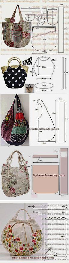 Шаблоны Мода для измерения: несколько мешков и