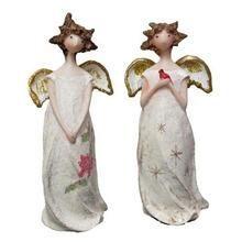 Christmas Angel Ornament Set of 2 Q484-0182-29423EF