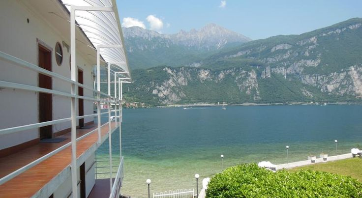 Hotel Motel Nautilus Valmadrera Located on the road between Lecco and Bellagio, this 3-star hotel is right on the shores of Lake Como. Hotel Motel Nautilus faces scenic mountains and has a private beach. All rooms have a balcony, with some overlooking the lake.