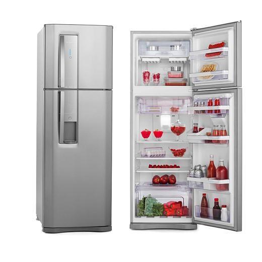 Geladeira/Refrigerador Electrolux DW42X 380 Litros 2 Portas Frost Free Inox