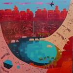 Peta Miller 'Bend in the River II'