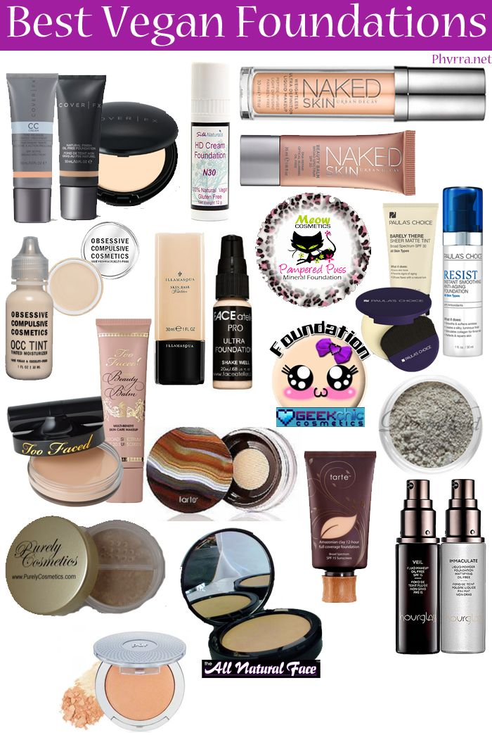 Best-Vegan-Foundations