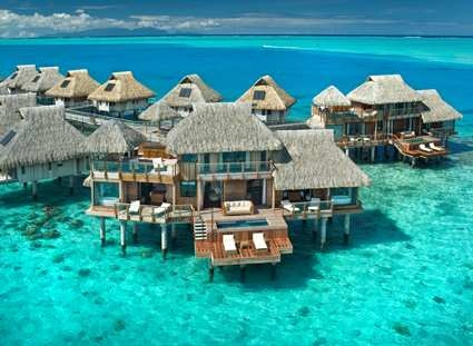 Hilton Bora Bora Nui Resort & Spa on the French Polynesian island of Bora Bora