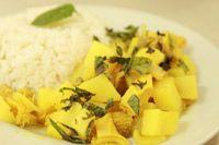 Prueba las delicias del arte culinario Peruano. -Cau-cau.
