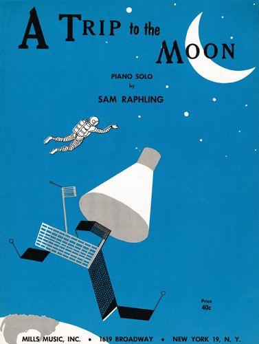 A Trip to the Moon - Anonymous Prints - Easyart.com