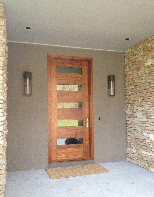Perfect 5 Pane Front Door but perhaps 4 is better